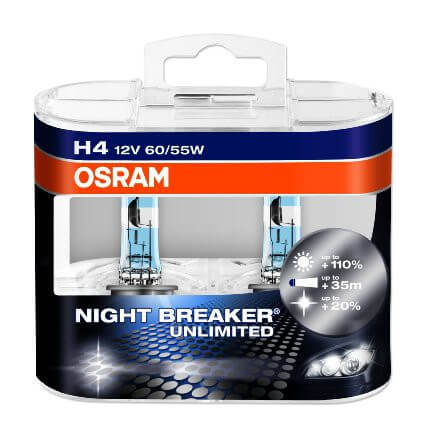 OSRAM Night Breaker H4 Unlimited
