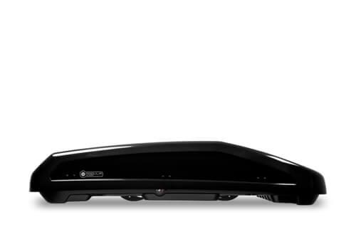 Μπαγκαζιέρα Οροφής Modula Evo 400 lt Μαύρο - Διπλό Άνοιγμα