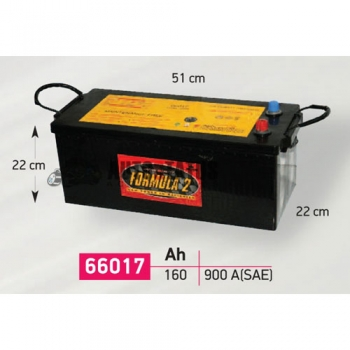 ΜΠΑΤΑΡΙΑ 66017 / 160 AH
