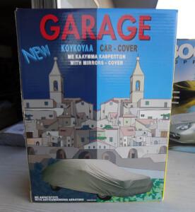 Κουκούλα αυτοκινήτου Garage