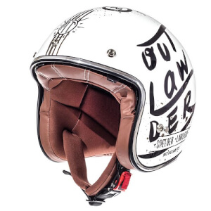 Κράνος MT Le Mans SV Outlander άσπρο-μαύρο