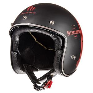 Κράνος MT Le Mans SV Divenire ματ μαύρο-κόκκινο