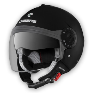 Κράνος Caberg Riviera V3 μαύρο ματ