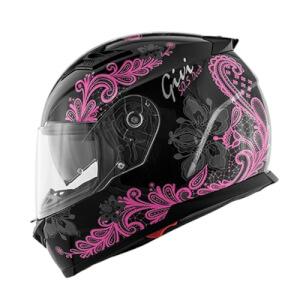 Κράνος Givi H50.5 Deco Lady pink/black