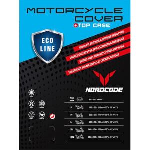 ΚΑΛΥΜΜΑ ΜΟΤΟ NORDCODE COVER MOTO L ECO LINE+TOP CASE