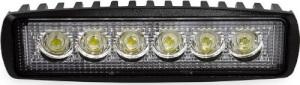 ΠΡΟΒΟΛΕΑΣ ΕΡΓΑΣΙΑΣ DAYLINE WL01 FLAT 9/60V - 18W - 6000K - 6 LED (ΛΕΥΚΟ/ΨΥΧΡΟ) - 160 Χ 43 Χ 42 mm